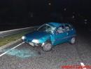 Kvinde slog en kolbøt i sin bil.