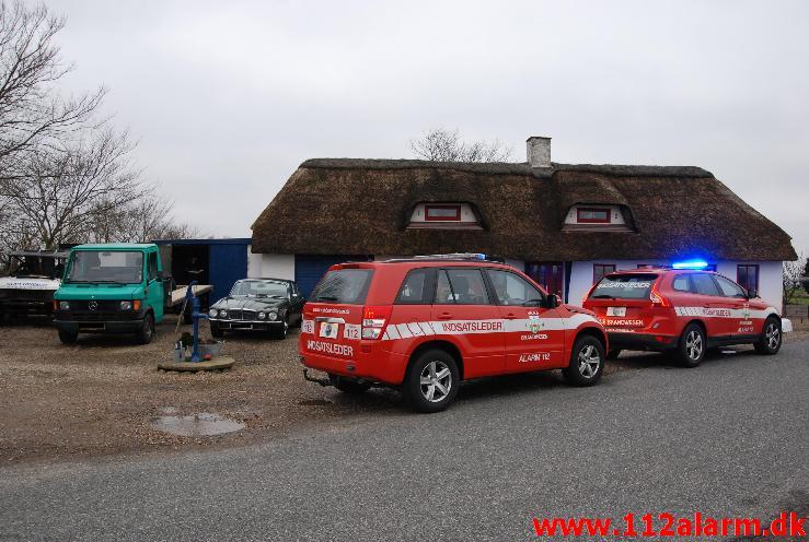 Brand i Villa/Værksted.