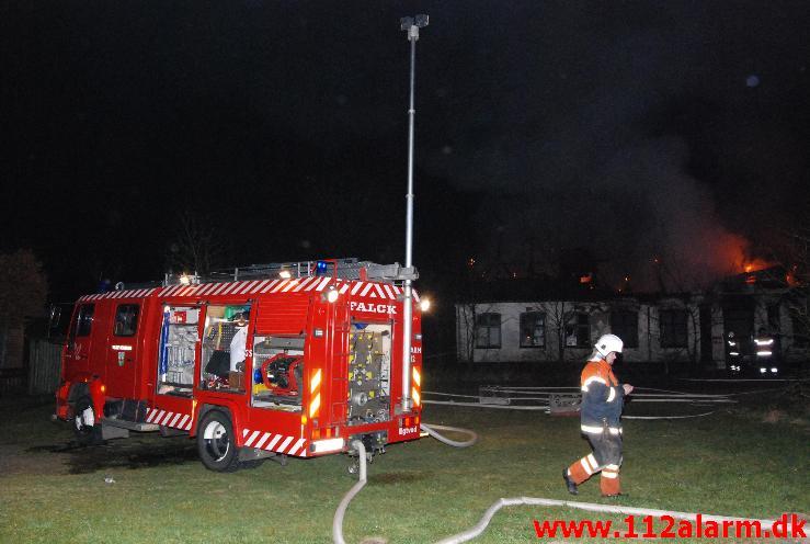 Brand i Villa.