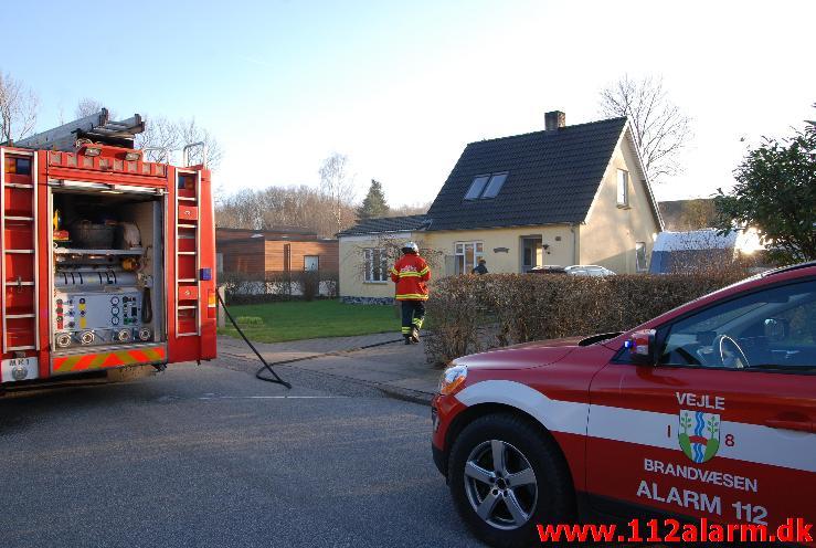 Brand i villa