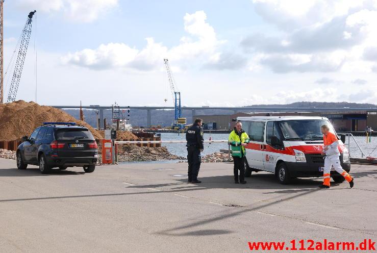 Død mand fundet i Vejle Havn.