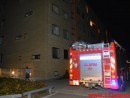 Brand i Etageejendom. Finlandsvej i Vejle. 05/10-2014. Kl. 22:30.