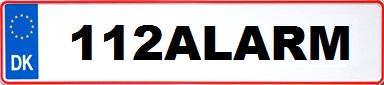 112_nummerplade