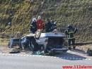 FUH med fastklemt. Midtjyske Motorvej ind mod Vejle. 12/03-2015. Kl. 14:03.