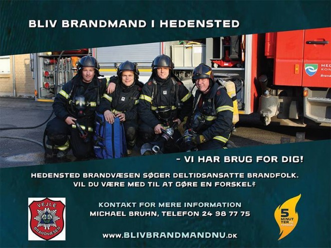 Bliv Brandmand i Hedensted. 2015.