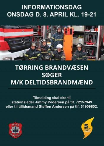 Bliv Brandmand i Tørring. 2015.
