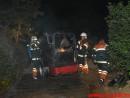 Brand i Landbrugsredskab. Hvesager i Jelling. 21/08-2015. Kl. 00:02.