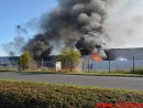 Brand i industri i Vinding i Vejle. 08/09-2015. Kl. 16:47.