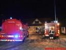 Gårdbrand. Mejslingvej ved Jerlev. 18/01-2016. Kl. 17:32.