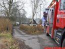 Brand i Villa. Toftumvej ved Børkop. 01/02-2017. Kl. 15:49.