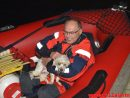 Hund faldet i havnebassinet. Vejle Havn. 28/07-2017. Kl. 21:49.