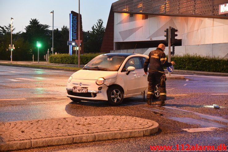 Mindre forurening / FUH. Damhaven – Enghavevej i Vejle. 06/08-2017. Kl. 21:46.