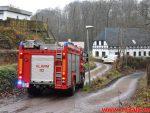 Brand i Villa. Lehmannsvej i Vejle Ø. 30/12-2017. Kl. 14:27.