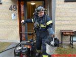 Brand i etageejendom. Finlandsvej 49 i Vejle. 13/01-2018. Kl. 11:00.