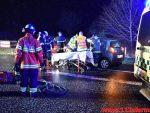 Kvinde overså den anden bilist. Bredstenvej ved Skibet. 17/01-2018. Kl. 06:32.