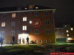 Brand i Etageejendom. Pedersholms Alle. 18 i vejle. 04/02-2018. Kl. 02:14.