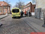 Kvinden fik det dårligt i elevatoren. klostergade 4 i Vejle. 18/04-2018. Kl. 12:19.