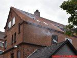Brand i Etageejendom. Valdemarsgade i Vejle. 23/06-2018. Kl. 10:56.