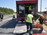 Forurening efter FUH. Ny Solskovvej 92 ved DTC i Vejle. 21/07-2018. Kl. 13:19.