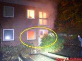 Brand i en Etageejendom. Ribe Landevej 13 i Vejle. 30/10-2018. KL. 05:16.