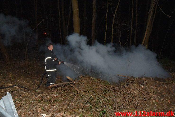 Mindre Naturbrand. Østengårdvej i Knabberup. 14/01-2019. KL. 17:54.