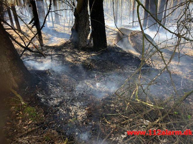 Brand i Villa. Ribevej ved Egtved. 23/04-2019. Kl. 12:11.