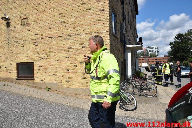 Personredning. Damhaven i Vejle. 02/08-2019. Kl. 13:05.