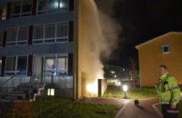 Brand i Etageejendom. Løget Høj i Vejle. 26/02-20. Kl. 22:01.