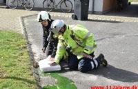 Større Kemikalie udslip. Lindestræde i Vejle. 19/03-2020. KL. 12:00.