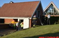 Ild i Fritliggende Garage. Dornsvej i Vejle. 27/05-2020. Kl. 20:14.