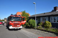 Brand i Villa. Ømkulevej i Vejle. 01/06-2020. Kl. 16:40.