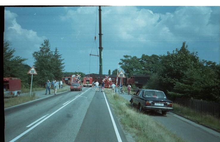 Togulykken i Jelling skete den 1. august 1995