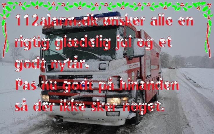 112alarm.dk ønsker alle sine bruger en rigtig glædelig Jul og et godt Nytår. Pas nu godt på hinanden så der ikke sker noget.