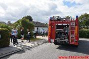 Brand i Villa. Bredager i Bredballe. 06/07-2019. Kl. 17:04.