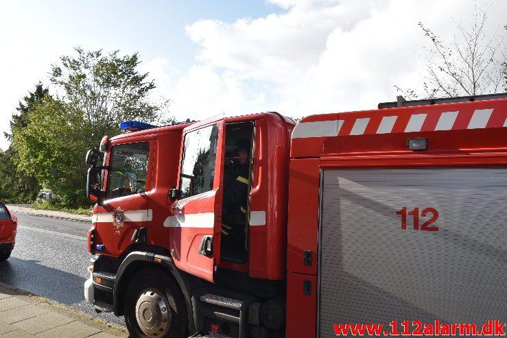 Brand for 2. gang i samme lejlighed. Ribe Landevej 13 i Vejle. 05/09-2019. Kl. 17:06.