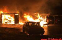 Ild i carport. Sandnæsvej i Vejle. 24/05-2020. KL. 03:53.