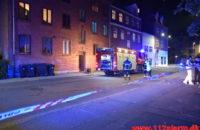 Ild i Etageejendom. Nyboesgade 34 C i Vejle. 15/09-020. KL. 21:54.