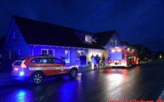 Brand i Villa. Ballevej i Bredsten. 25/10-2020. Kl. 17:22.