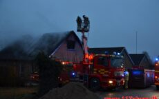 Brand i Villa. Rønne Alle i Hedensted. 27/01-2021. KL. 7:32.