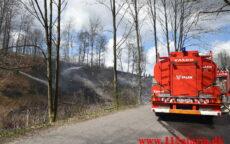 Mindre naturbrand. Tørskindvej Randbøl. 26/04-2021. Kl. 13:11.