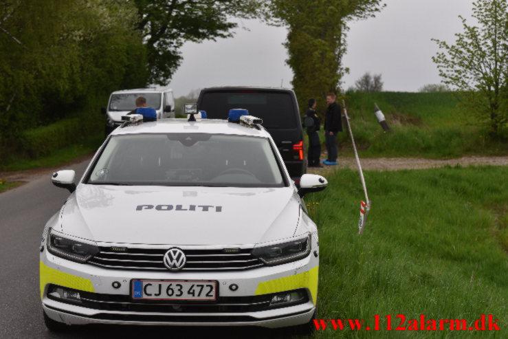 Hvad er der sket ?? Grønlandsvej 387 i Vejle. 14/05-2021. Kl. 16:54.