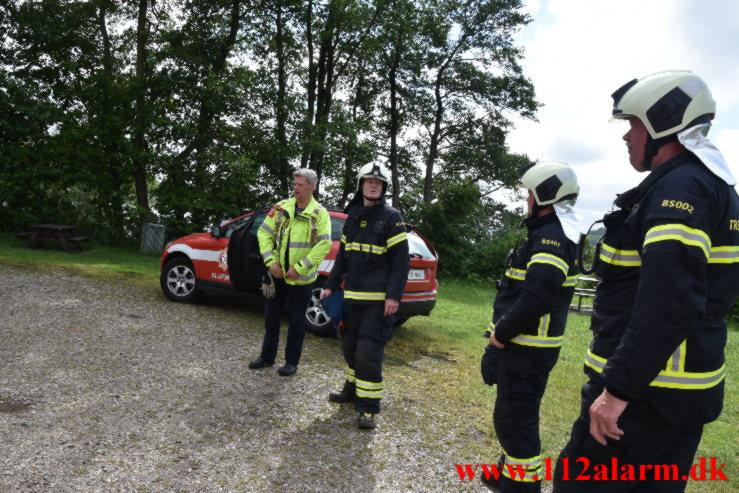Redning – Drukneulykke. Fårup Sø i Jelling. 20/06-2021. Kl. 15:16.