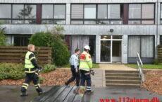Ild i Lejlighed. Løget Høj 13 i Vejle. 30/09-2021. KL. 13:51.
