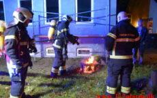 Ild i Villa/Rækkehus. Vejlevej ude ved Hørup. 16/10-2021. Kl. 22:51.
